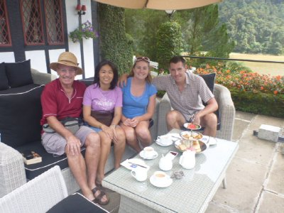 High Tea in Cameron Highlands