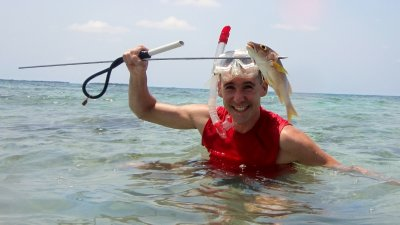 Kevin Spearfishing