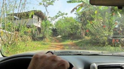 Dribing to La Iguana