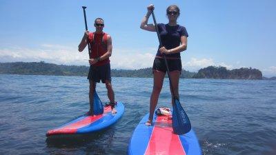 SUP'ing Costa Rica Coast