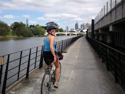 Melbourne bike paths