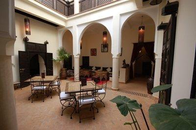 Courtyard El Bacha Riad