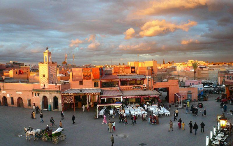 Djemaa el Fna in Marrakech