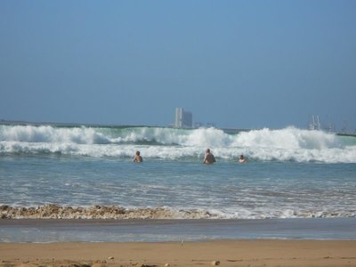 Great waves in Agadir