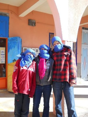 Preparing to go quadding in Ouarzazate