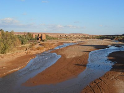 Ait Ben Haddou floodplains