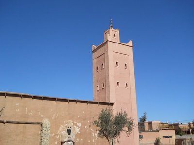 Moroccan Blue sky