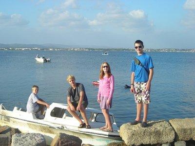 Yukon kids enjoy the south of France.