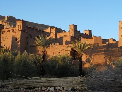 The fortified village of Ait Ben Haddou