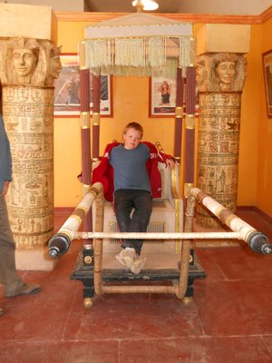 Angus in the Moroccan Museum of Cinema