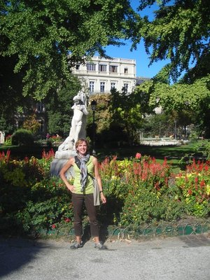 A garden in Montpellier
