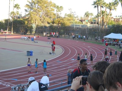 Track meet at Arizona State University