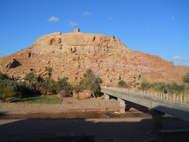 View from our hotel in Ait Ben Haddou