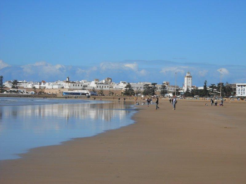 Beach in Essaouira