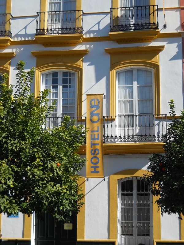 Hostel One in central Seville