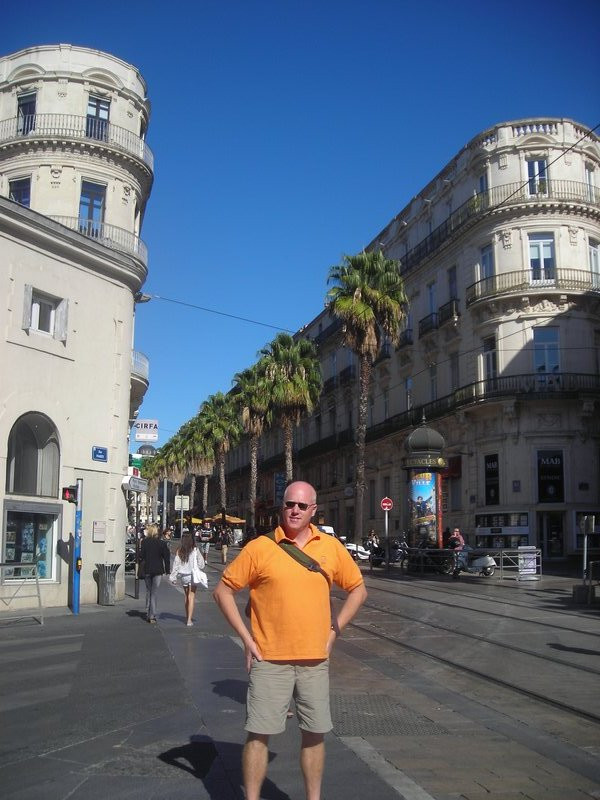 An afternoon in Montpellier
