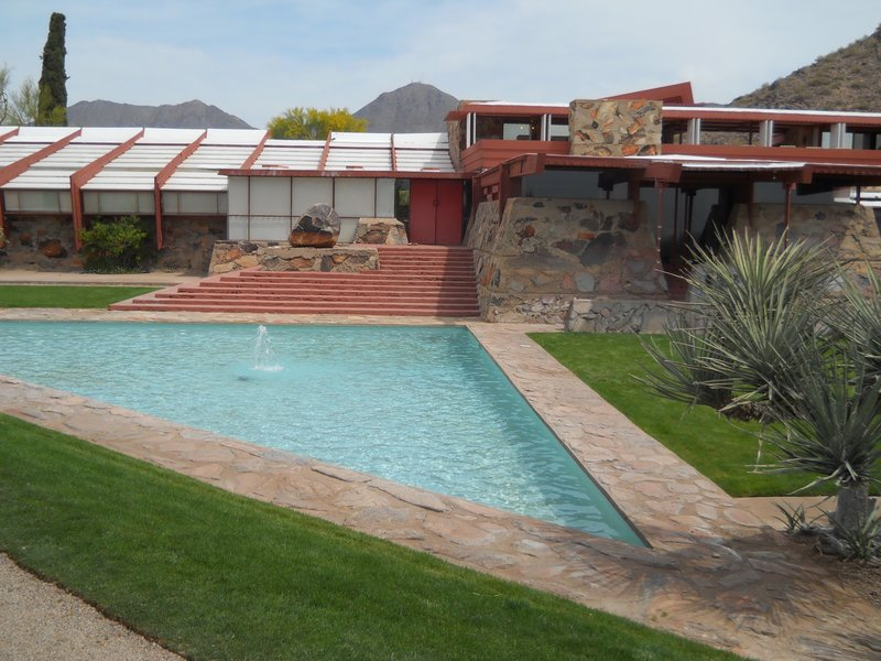 Pond at Taliesin West