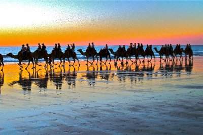 Pastel Sunset at Cable Beach Broome