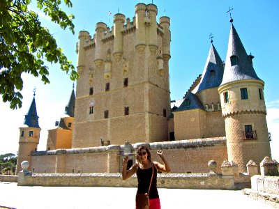 Alcázar Castle in Segovia