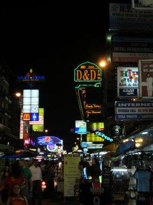Khosan road, Bangkok