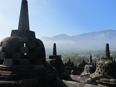 Borobodur, Java, Indonesie