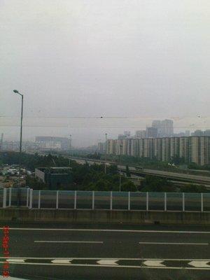 Hong Kong from the bus
