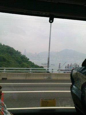 Hong Kong from the bus 3