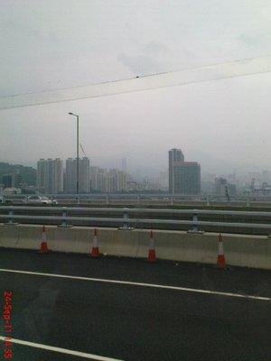 Hong Kong from the bus 4