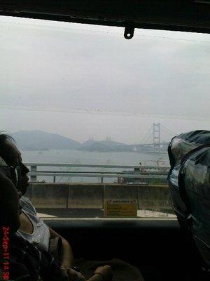Hong Kong from the bus 5