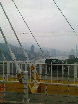 Hong Kong from the bus 6