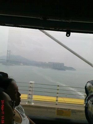 Hong Kong from the bus 7