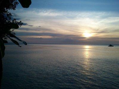 Sunset on Danjugan Island