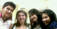 Richard, me, Geraldine, Yurani