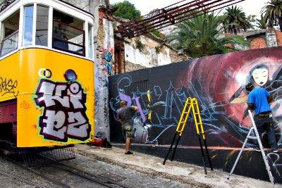 Lisboa - arte na parede