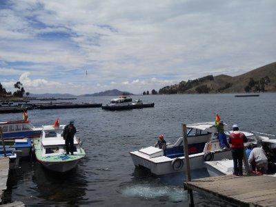 Slik ser en ferge ut i Bolivia