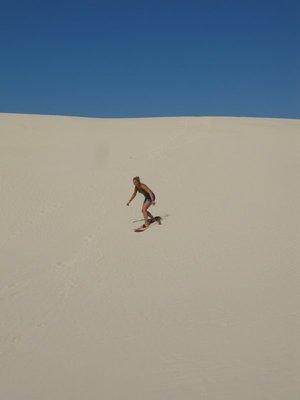 Profesjonell sandboarder.... ehh...