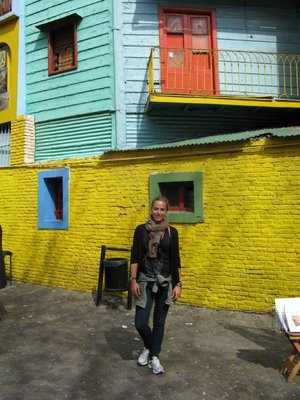 Annika i La Boca