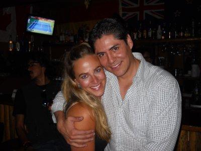Annika og vaar svensk-bolivianske venn