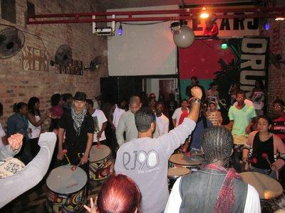 En reggae club i Lapa