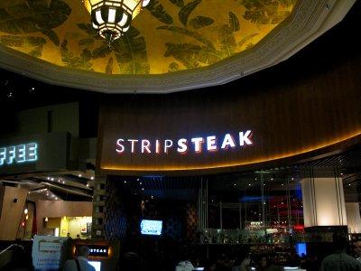 Strip steak at the Mandalay Bay
