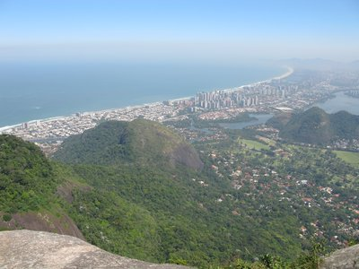 Utsikt over den vestlige delen av Rio.