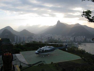 Helikopteret vi tok en tur med