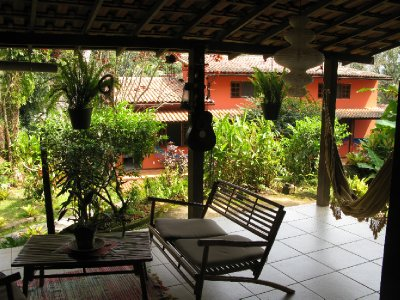 Hostelet vaart paa Ilha Grande