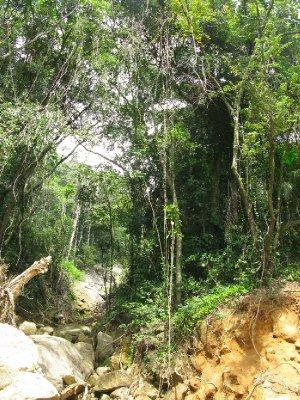 Paa hikingturen til stranda Dois Rios