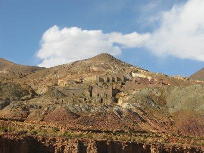 Paa vei til Uyuni