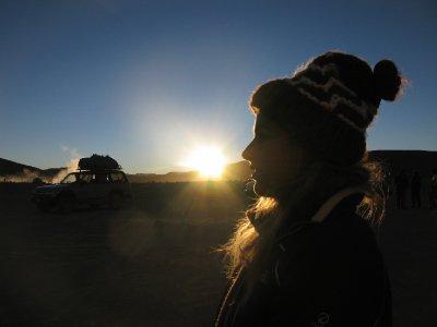 Annika i soloppgang