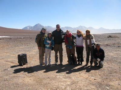 Siste stopp for hele gruppa, paa grensen til Chile