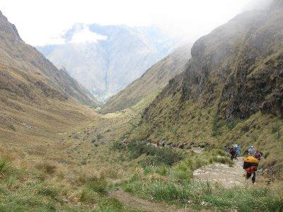 Den laaaange veien til toppen paa dag 3