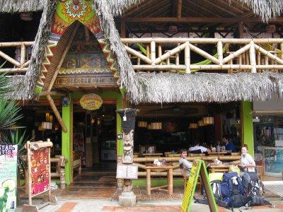 Tiki Limbo - favorittstedet i Montanita