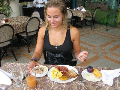 Denne deilige frokosten nøt vi hver dag på Barcelo